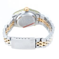Rolex Gold Stainless Steel 18K Yellow Gold Diamond Datejust 69173 Women's Wristwatch 26 mm