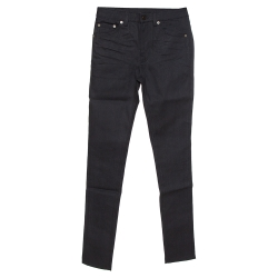Saint Laurent Paris Black Denim Skinny Jeans S