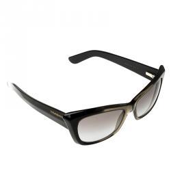 2091455f64 Saint Laurent Paris Black Transparent Black Gradient YSL 6337 S Cat Eye  Sunglasses