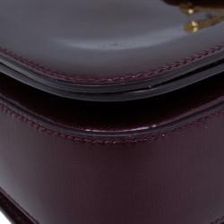 Saint Laurent Paris Purple Patent Leather Classic Y Crossbody