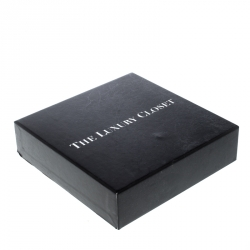 Saint Laurent Nude Matelasse Leather Monogram Card Holder