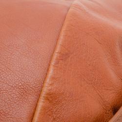 Saint Laurent Brown Leather Mini Mombasa Hobo