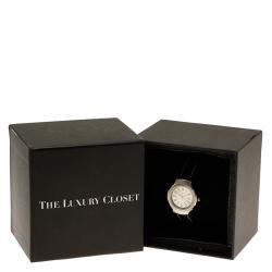 Saint Laurent Paris Silver Stainless Steel Classic Women's Wristwatch 28MM
