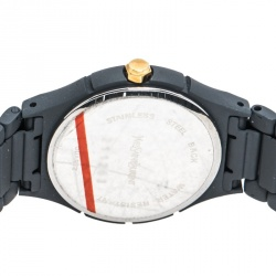 Saint Laurent Paris Red Grey PVD Coated Stainless Steel Classic Women's Wristwatch 24 mm