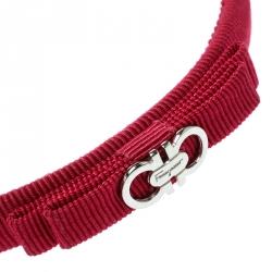 Salvatore Ferragamo Pink Vara Bow Headband