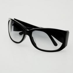Salvatore Ferragamo Black Sunglasses With Crystals