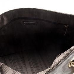 Salvatore Ferragamo Brown Leather Boston Bag