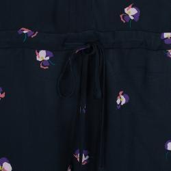 See by Chloe Long Sleeve Floral Print Romper S