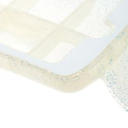 Stella McCartney White Glitter Rubber Shark iPhone 7 Case
