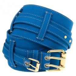 Stella McCartney Blue Waist Belt 80 CM