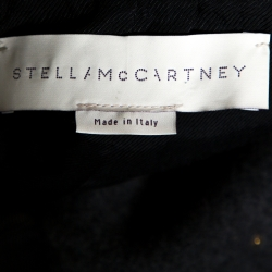 Stella McCartney Grey Wool Embellished Coat L
