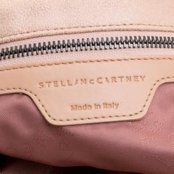 Stella McCartney Powder Pink Faux Leather Falabella Tote