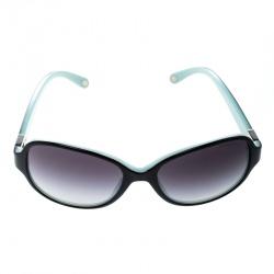 Tiffany & Co. Black/Tiffany Blue TF 4046-B Butterfly Sunglasses