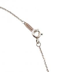 Tiffany & Co. 1837 Interlocking Circles Rubedo & Silver Pendant Necklace