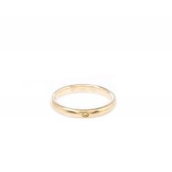Tiffany & Co Elsa Perreti Diamond 18k Yellow Gold Band Ring Size 54.5