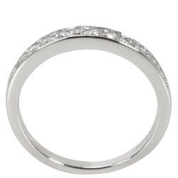 Tiffany & Co. 0.25 CTW Diamond Platinum Wedding Band Ring Size 51