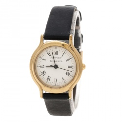 bd189b4c495 Tiffany   Co. White Gold Plated Portfolio Women s Wristwatch ...