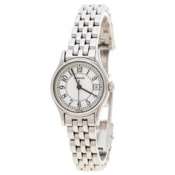 d5c42aa65ef Tiffany   Co. White Stainless Steel Portfolio Women s Wristwatch ...