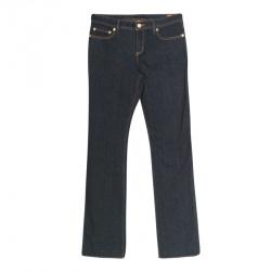 8199b59e6c Buy Tory Burch Indigo Dark Wash Denim Classic Boot Cut Jeans M ...