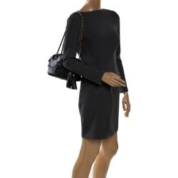 Tory Burch Black Leather Thea Shoulder Bag