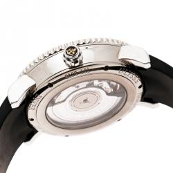 Ulysse Nardin Black Stainless Steel Diver 8103-101 Women's Wristwatch 37 mm
