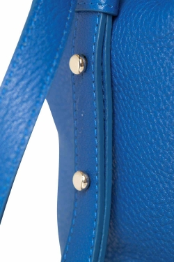 Mansur Gavriel Royal Blue Soft Leather Mini Bucket Bag