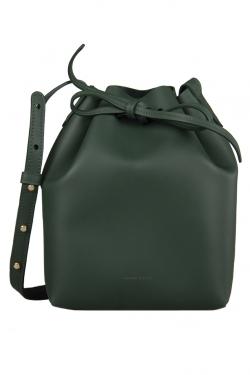 حقيبة منصور غافرييل باكت جلد خضراء