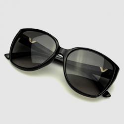 Valentino Black V624S Womens Sunglasses
