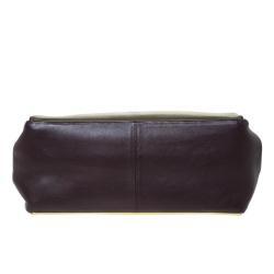 Valentino Multicolor Leather  Colourblock Top Handle Bag