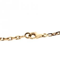 Van Cleef & Arpels Vintage Alhambra Malachite 20 Motif 18k Yellow Gold Long Necklace