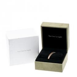 Van Cleef & Arpels Perlée Signature 18K Rose Gold Bracelet M
