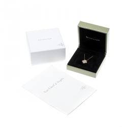 Van Cleef & Arpels Vintage Alhambra Mother of Pearl 18k Yellow Gold Pendant Necklace
