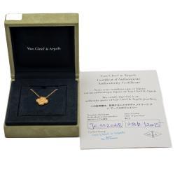 Van Cleef & Arpels Vintage Rose Gold Necklace