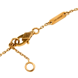 Van Cleef & Arpels Sweet Alhambra Carnelian 18K Rose Gold Bracelet