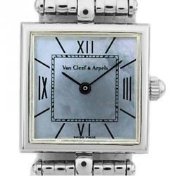 9c1173ffb12ae Van Cleef   Arpels MOP Stainless Steel Women s Wristwatch ...