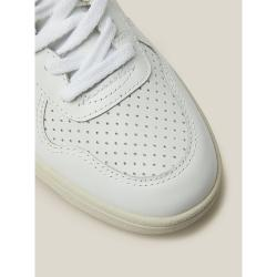 VEJA White V-10 Low-Top Leather Trainers Size FR 39