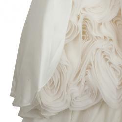 Vera Wang White Wedding Dress M
