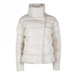 Weekend Max Mara Beige Quilted Puffer Jacket S