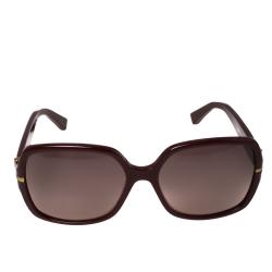 Yves Saint Laurent Bordeaux / Burgundy YSL6307/S Square Sunglasses