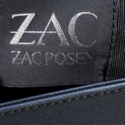 Zac Zac Posen Blue Leather Tote