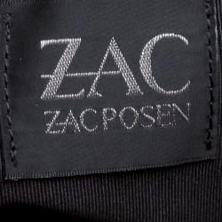 Zac Zac Pozen Red Leather Tote