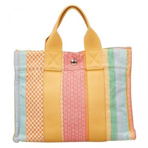 Hermes Canvas New York Madison Limited Edition Fourre Tout Tote PM