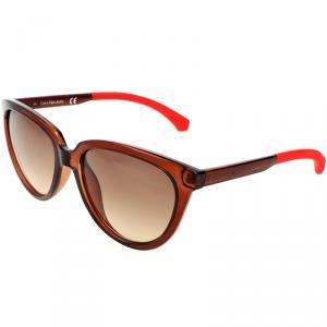 Calvin Klein Brown CKJ802S Wayfarer Sunglasses