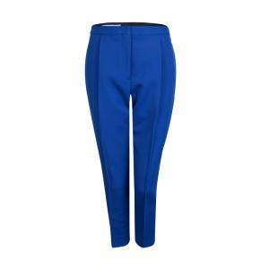 Jil Sander Electric Blue High Waist Trousers M