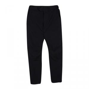 Alexander McQueen Black Wool Trousers S