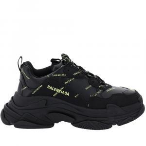 Balenciaga Black Triple S Sneakers 42