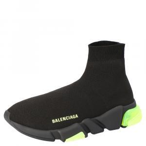 حذاء بالنسياغا ترينرز نعل شفاف فلو سبيد أصفر مقاس EU 41