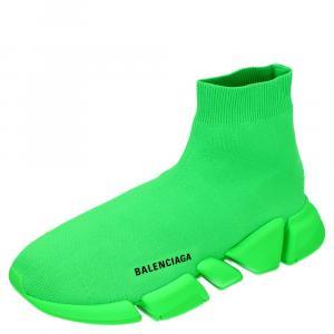 حذاء رياضي بالنسياغا سبيد 2.0 جلد أخضر فلو مقاس أوروبي 43