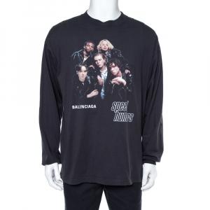 Balenciaga Black Cotton Speed Hunters Long Sleeve T-Shirt M - used