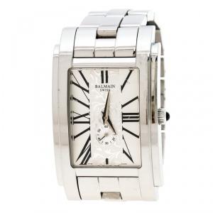 Balmain Silver White Stainless Steel 2721 Men's Wristwatch 32 mm